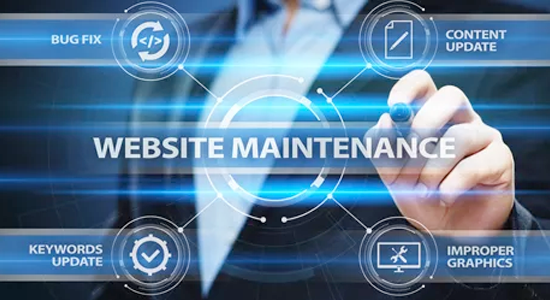 keep visitors coming back website updates maintenance